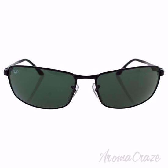 Ray Ban Sunglasses RB3498 002/71 Black/Green Sunglasses for Men