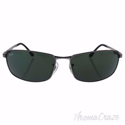 Ray Ban RB 3498 004/71 - Gunmetal/Green by Ray Ban for Men -