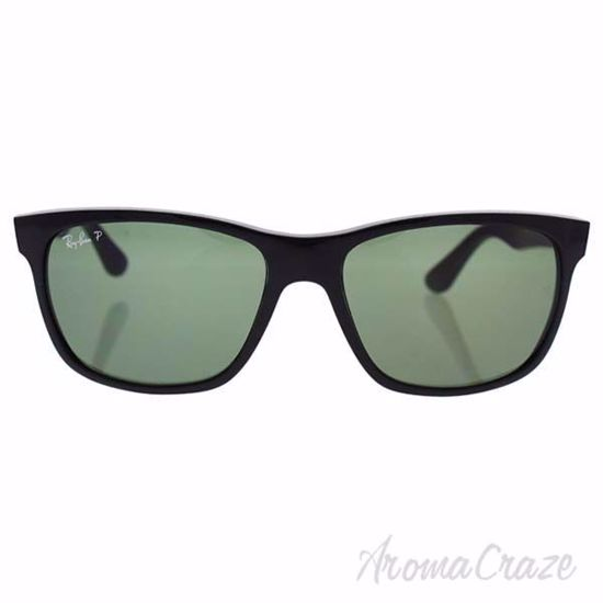 Picture of Ray Ban RB 4181 601/9A - Black/Green Classic Polarized by Ray Ban for Unisex - 57-16-145 mm Sunglasses