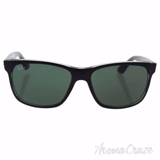 Ray Ban RB 4181 6130 - Black/Green by Ray Ban for Unisex - 5