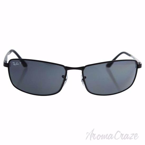 Picture of Ray Ban RB 3498 006/81 - Black/Grey Gradient Polarized by Ray Ban for Men - 64-17-135 mm Sunglasses