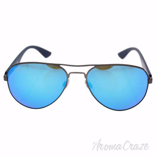 Picture of Ray Ban RB 3523 029/55 - Gunmetal Blue/Blue by Ray Ban for Men - 59-17-140 mm Sunglasses