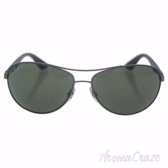Picture of Ray Ban RB 3526 029/9A - Gunmetal Black/Green Classic Polarized by Ray Ban for Men - 63-14-135 mm Sunglasses