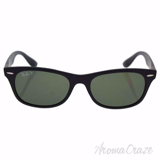 Ray Ban RB 4207 601-S/9A - Matte Black/Green Polarized by Ra