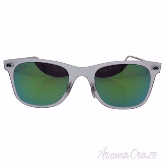 Ray Ban RB 4210 646/3R LightRay - Transparent Silver/Green b