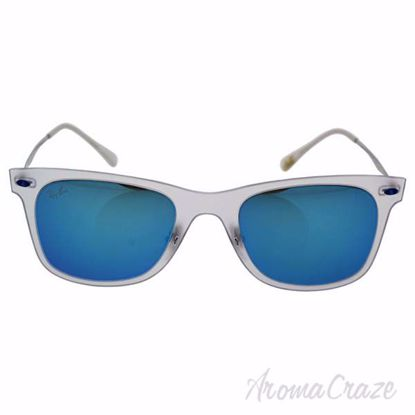 Ray Ban RB 4210 646/55 - Transparent Silver/Blue by Ray Ban