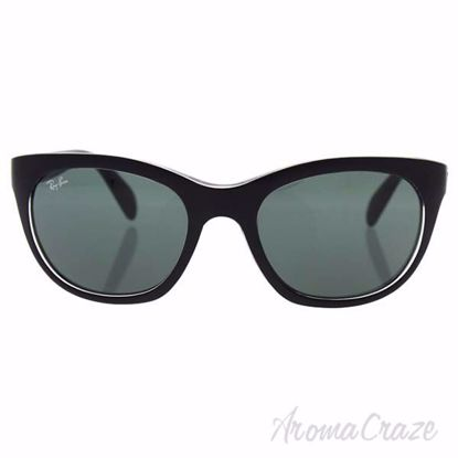 Ray Ban RB 4216 6052/71 - Black/Green Classic by Ray Ban for