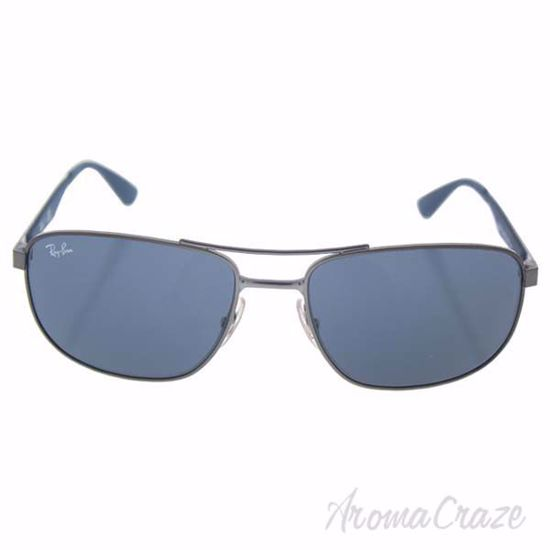 Ray Ban RB 3528 029/87 - Gunmetal Blue/Grey by Ray Ban for M