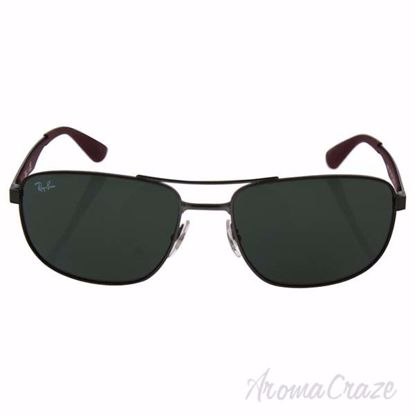 Ray Ban RB 3528 190/71 - Gunmetal Bordeaux/Green Classic by