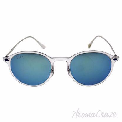 Ray Ban RB 4224 646/55 Light Ray - Transparent Silver/Blue b