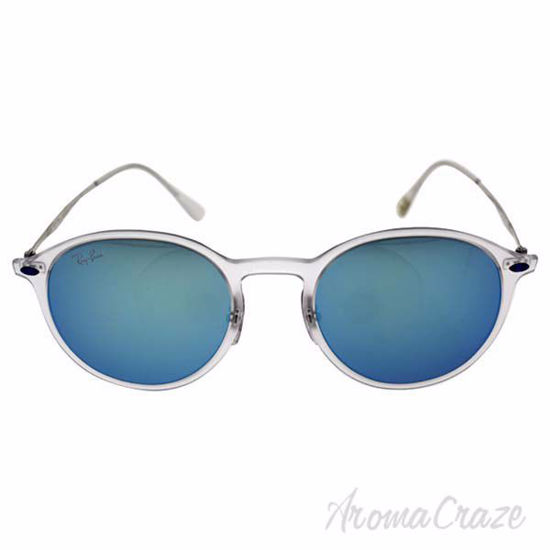 Ray Ban RB 4224 646/55 Light Ray - Transparent Silver/Blue b