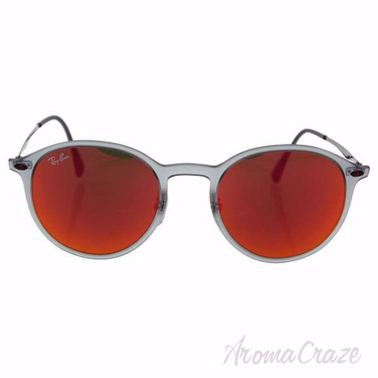 Ray Ban RB 4224 650/6Q - Grey Silver/Red by Ray Ban for Unis
