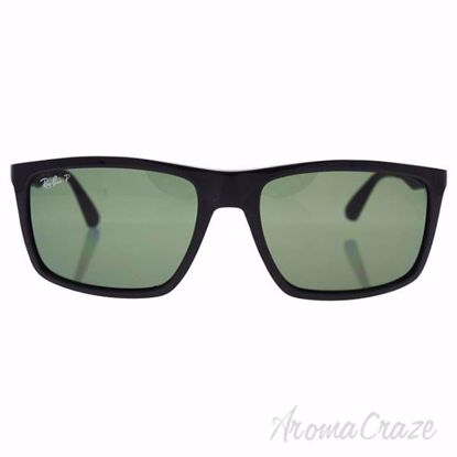 Ray Ban RB 4228 601/9A - Black/Green Classic Polarized by Ra