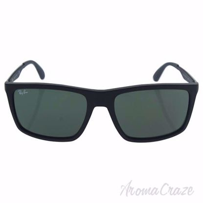 Ray Ban RB 4228 601/S-71 - Black/Green by Ray Ban for Men -