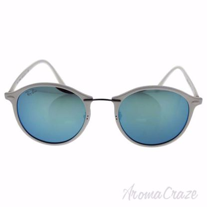 Ray Ban RB 4242 671/55 LightRay - White/Blue by Ray Ban for