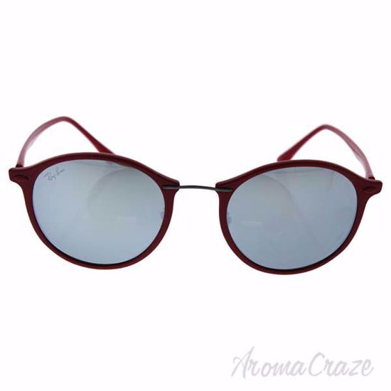 Ray Ban RB 4242 764/30 LightRay - Red/Silver by Ray Ban for