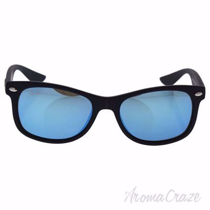 Ray Ban RJ 9052S 100S/55 - Black/Blue Mirror by Ray Ban for