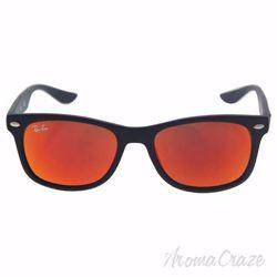 Ray Ban RJ 9052S 100S/6Q - Black/Red by Ray Ban for Kids - 48-16-130 mm Sunglasses