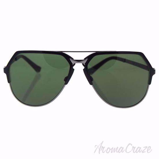 Dolce & Gabbana DG 2151 01/71 - Black Gunmetal/Dark Green by