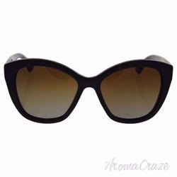 Dolce & Gabbana DG 4220 2937/T5 - Havana/Matte Havana/Borwn Gradient Polarized by Dolce & Gabbana for Women - 55-17-140 mm Sunglasses