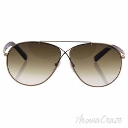 Tom Ford TF374 28F Eva - Shiny Gold Brown/Brown Gradient by Tom Ford for Women - 61-10-140 mm Sunglasses