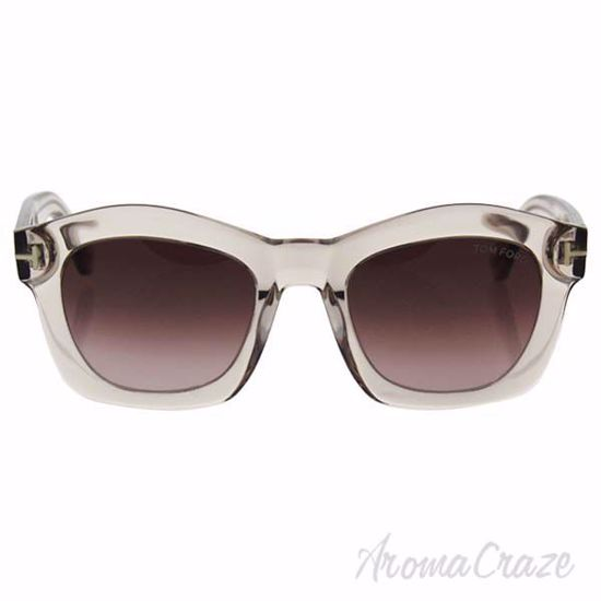 Tom Ford TF431 74S Greta - Transparent Pink/Burgundy by Tom