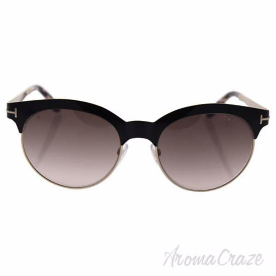 Tom Ford TF438 01F Angela - Shiny Black/Brown Gradient by To