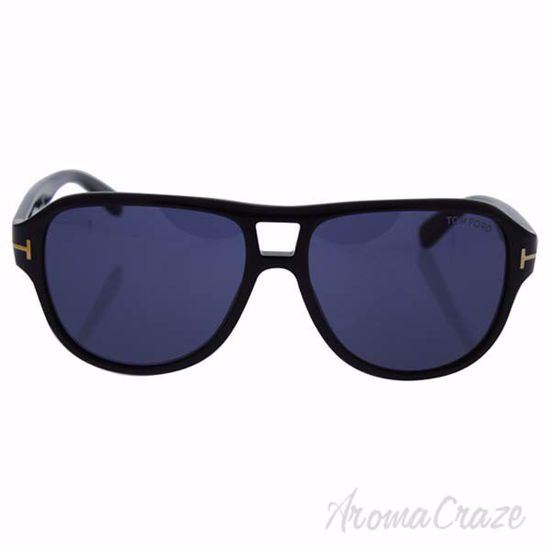 Tom Ford TF446 01V Dylan - Shiny Black/Blue by Tom Ford for
