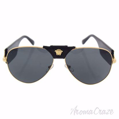 Versace VE 2150Q 1002/87 - Gold/Black/Gray by Versace for Me
