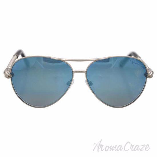Roberto Cavalli RC976S Syrma 16X - Shiny Palladium/Blue Mirr