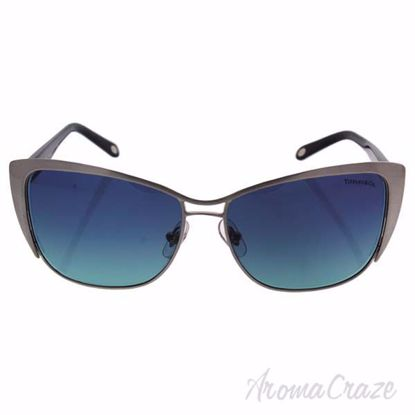 Tiffany TF 3050 6076/9S - Brushed Silver/Azure Gradient Blue