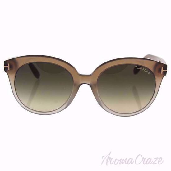 Tom Ford TF429 59B Monica - Beige Crystal/Grey Gradient by T