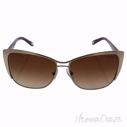 Tiffany TF 3050 6077/3B - Brushed Pale Gold/Brown Gradient b