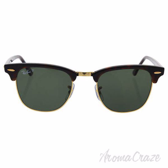 Ray Ban RB 3016 990/58 Clubmaster - Tortoise/Green Polarized