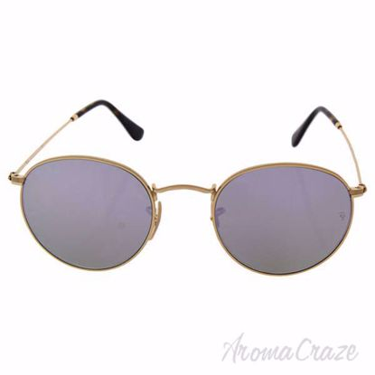Ray Ban RB 3447-N 001/80 Round Metal - Gold/Lilac by Ray Ban