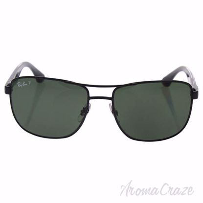 Ray Ban RB 3533 002/9A - Black/Green Polarized by Ray Ban fo