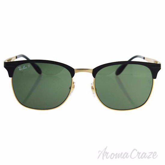 Ray Ban RB 3538 187/9A - Black Shiny/Green Polarized by Ray