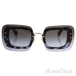 Miu Miu MU SMU 02R UAH-3H0 - Grey Black Tortoise/Grey Gradient by Miu Miu for Women - 67-17-140 mm Sunglasses