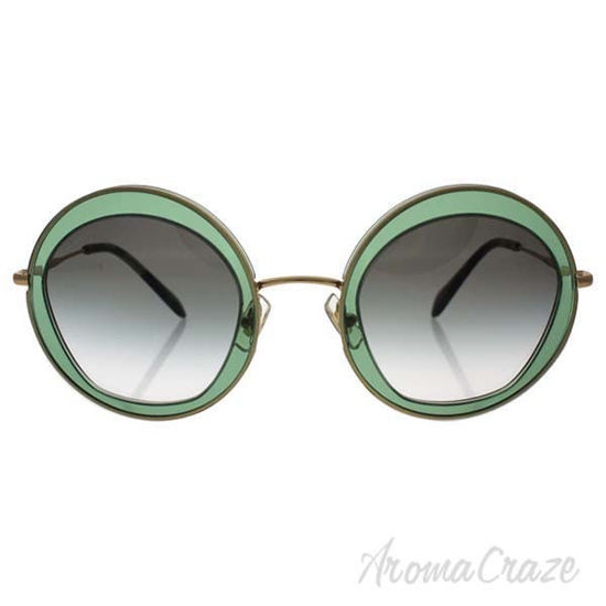 Picture of Miu Miu MU 50Q TWN-1E0 - Transparent Green/Green Gradient by Miu Miu for Women - 52-27-140 mm Sunglasses