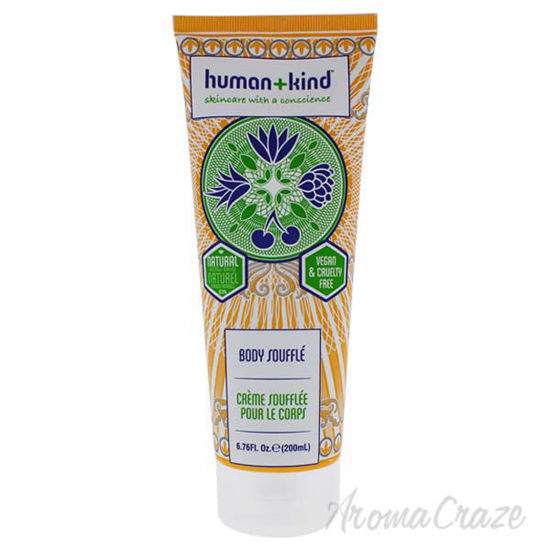 Picture of Body Souffle Cream – Tube by Human+kind for Unisex - 6.76 oz Body Cream