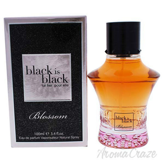 Picture of Black is Black Blossom by Nuparfums for Women - 3.4 oz EDP Spray