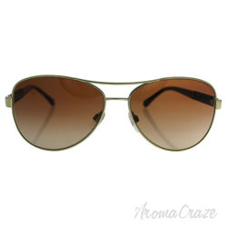 Burberry BE 3080 1145/13 - Gold/Brown by Burberry for Women - 59-14-135 mm Sunglasses