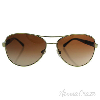 Burberry BE 3080 1145/13 - Gold/Brown by Burberry for Women