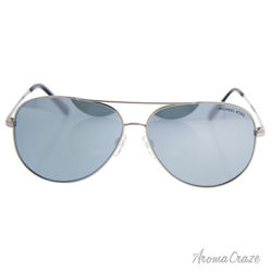 Michael Kors MK 5016 10011U Kendall I - Silver/Silver by Michael Kors for Unisex - 60-12-135 mm Sunglasses