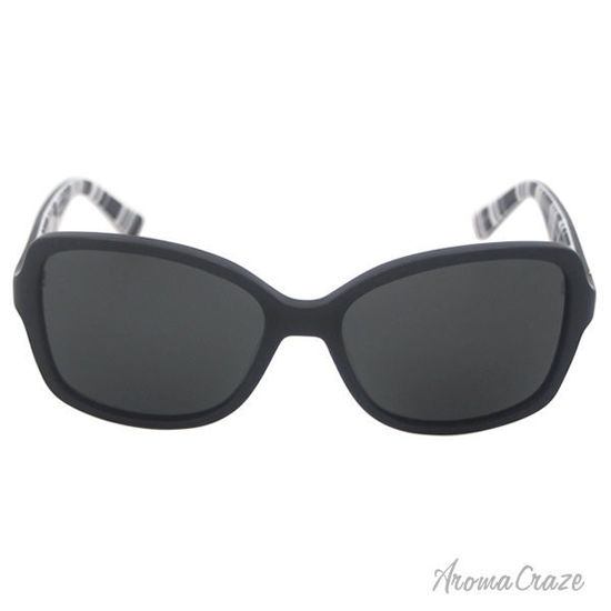 Picture of Kate Spade Ayleen/P/S 0QG9 - Black PTT White Polarized by Kate Spade for Women - 56-17-135 mm Sunglasses