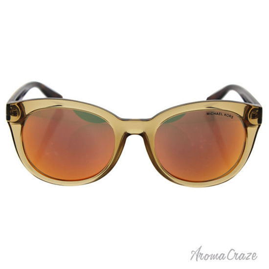 Picture of Michael Kors MK 6019 30516Q Champagne Beach - Glossy Brown/Orange by Michael Kors for Women - 53-20-135 Sunglasses