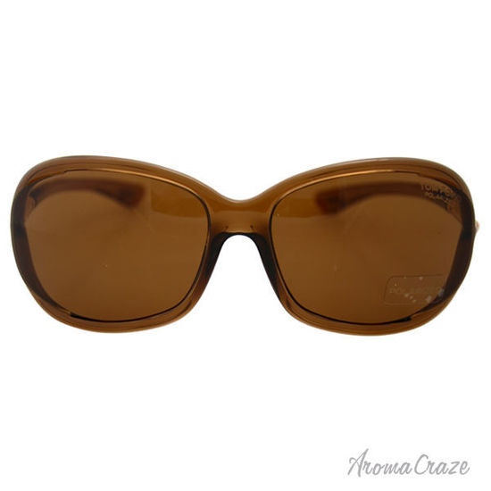 Picture of Tom Ford FT0008 Jennifer 48H - Brown Polarized by Tom Ford for Women - 61-16-120 mm Sunglasses