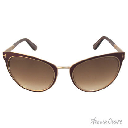 Tom Ford FT0373 Nina 48F - Dark Brown by Tom Ford for Women