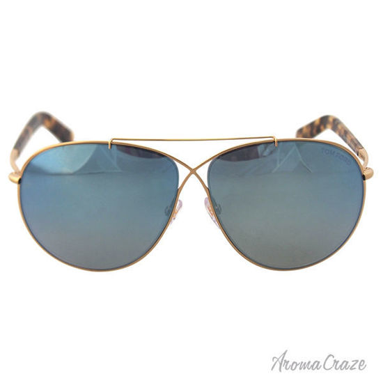 Picture of Tom Ford FT0374 Eva 28X - Rose Gold/Blue by Tom Ford for Women - 61-10-140 mm Sunglasses