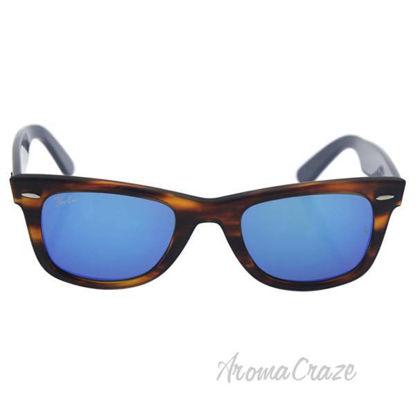 Ray Ban RB 2140 1176/17 Wayfarer - Tortoise Light Brown Blue
